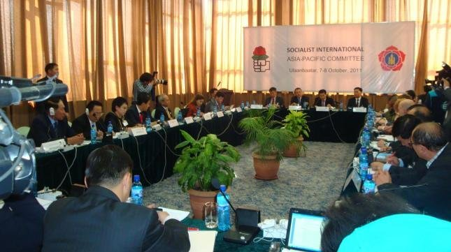 Strengthening democracy and pursuing sustainable and fair economic growth in the Asia-Pacific region